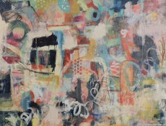"""""""Untitled"""" oil on canvas 48"""" x 60"""" by Leslie"""