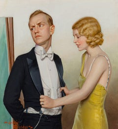Too Tight Fit, Liberty Magazine Cover, August 31, 1931