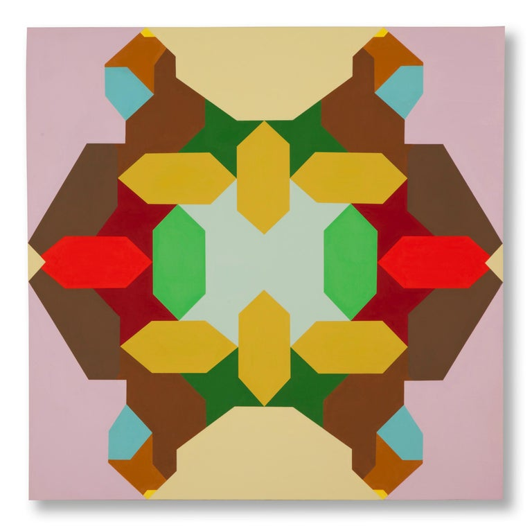 Leslie Wilkes Abstract Painting - Untitled (13.P1)