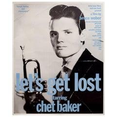 """""""Let's Get Lost"""" 1989 U.S. Film Poster"""