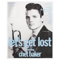 """Let's Get Lost"" 1989 U.S. Mini Film Poster"