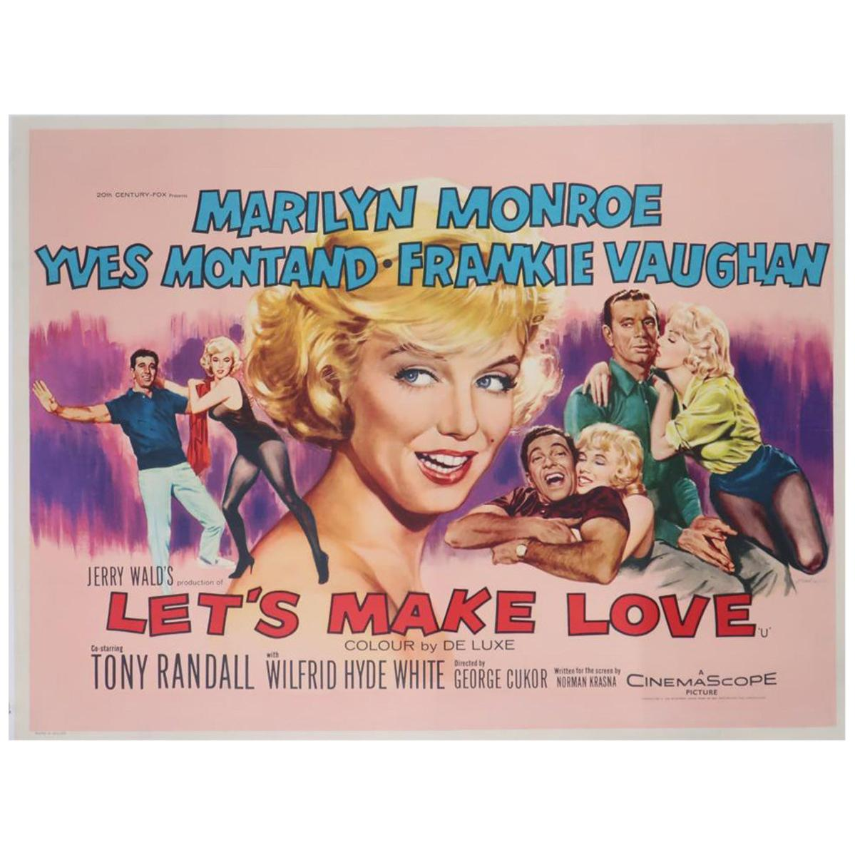 """Let's Make Love"" '1960' Poster"