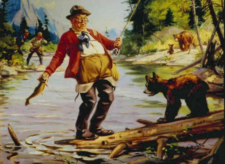 Hy (Henry) Hintermeister : Original Illustration Artwork