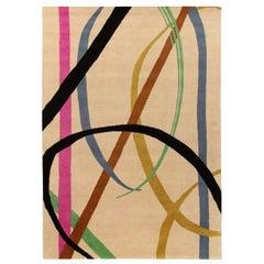 Lettera Disegnata Multi Carpet by Gio Ponti