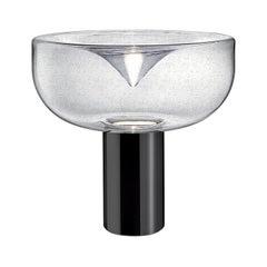 Leucos Aella 1968 T LED Table Light in Antico and Gunmetal by Toso & Massari