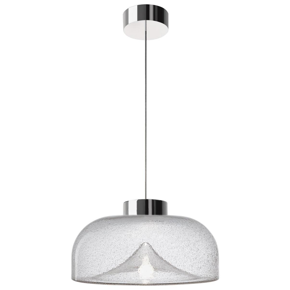 Leucos Aella Mini LED Pendant Lamp, Antico/Chrome