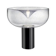 Leucos Aella Mini T 30 LED Table Light in Antico and Gunmetal by Toso & Massari