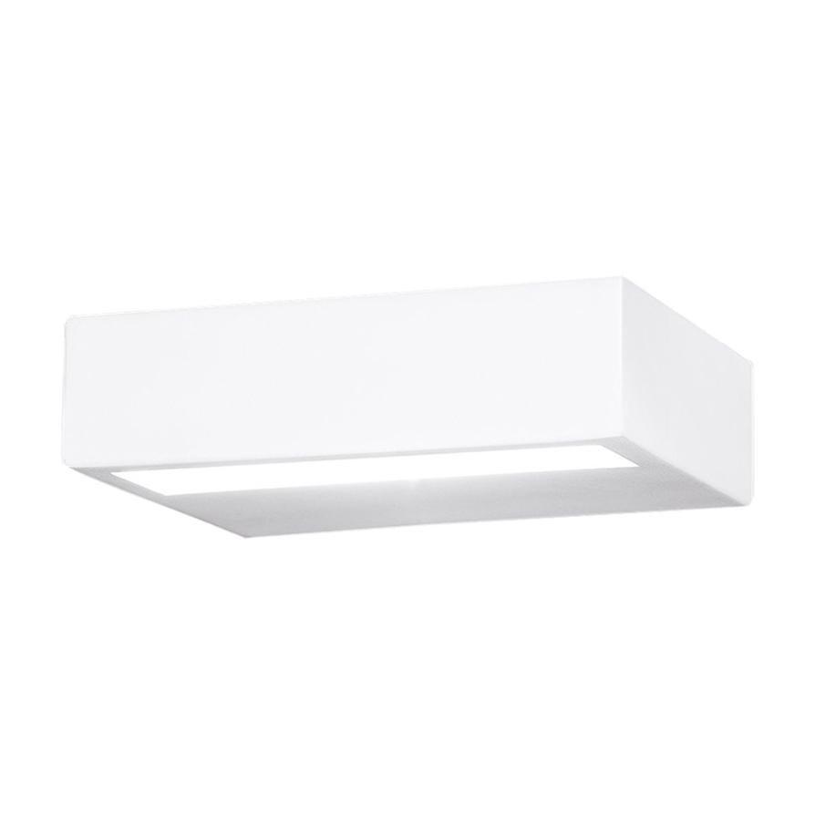 Leucos Alias P 15 LED Sconce in White by Design Works Studio: Tonetto & Lazzari