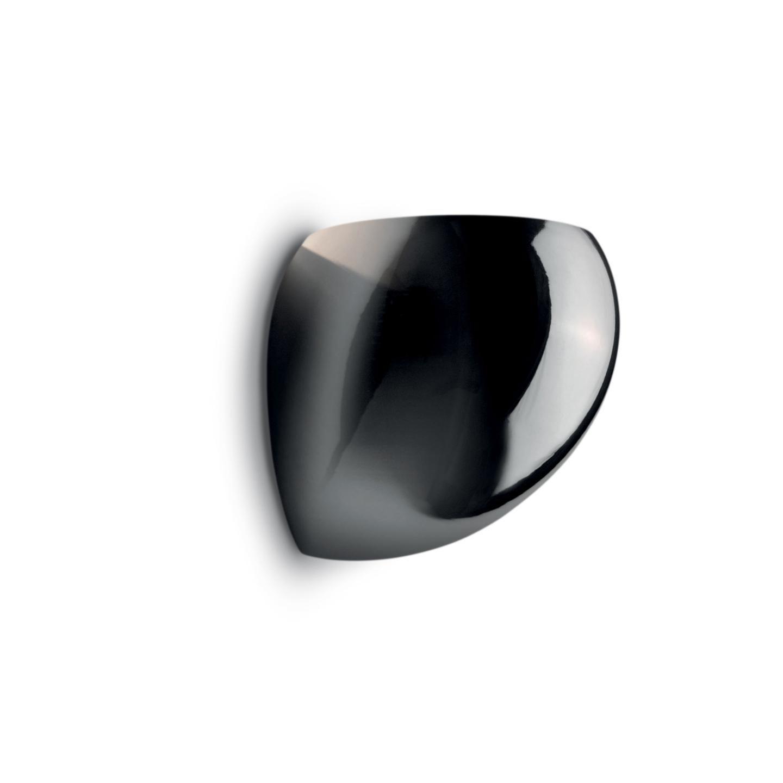 Leucos Golf P Wall Light in Chromed Glass & Chrome by Toso & Massari
