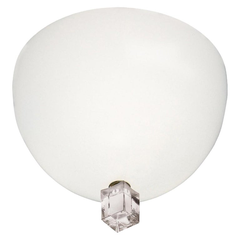 Leucos Large Victor Wall Lamp by Venini For Sale