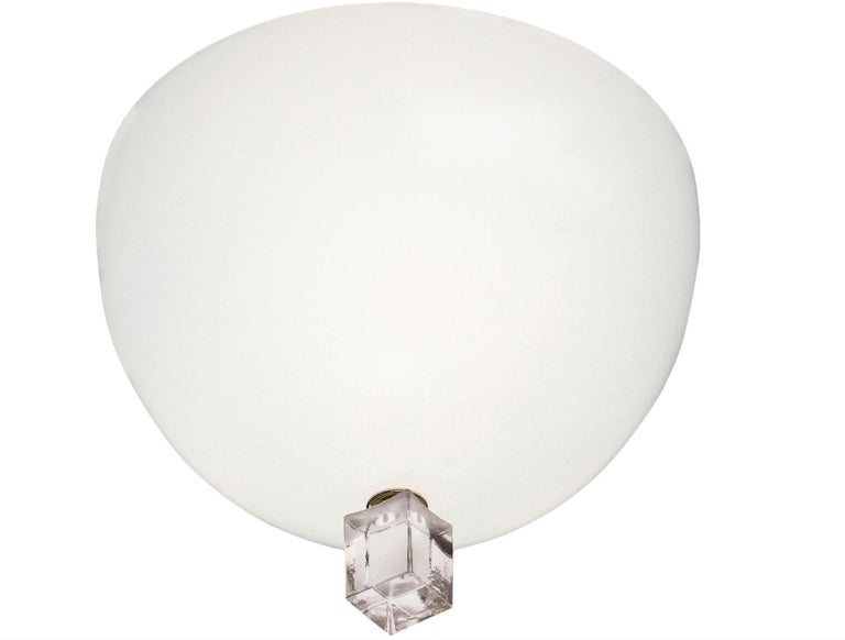 Italian Leucos Small Victoria Wall Lamp by Venini For Sale