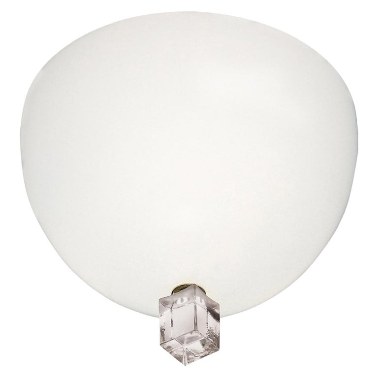 Leucos Small Victoria Wall Lamp by Venini For Sale