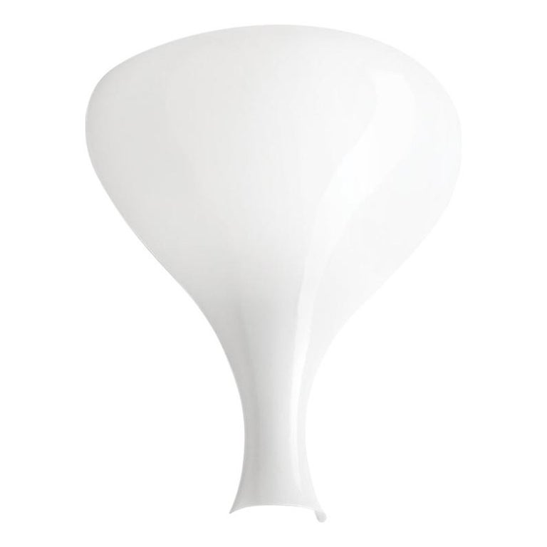 Modern Leucos Summer P Wall Sconce in Glossy and Matte White by Eva Zeisel For Sale