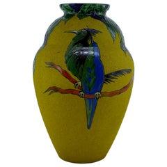 Leune Franch Art Deco Bird Vase, 1920s