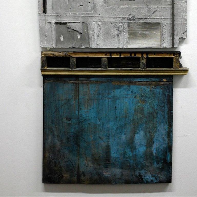 Levan Mindiashvili, 'Untitled 09 (Unintended Archeology)', 2015, Steel, Plaster - Brown Abstract Sculpture by Levan Mindiashvili