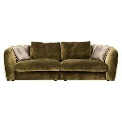 Levante Green Sofa