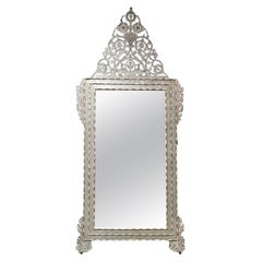 Levantine Mother of Pearl Inlaid Mirror