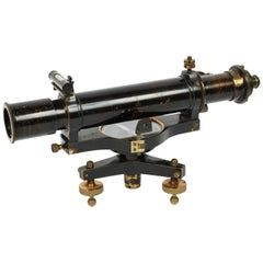 Level with Telescope Signed W. Ottway & C, 1907