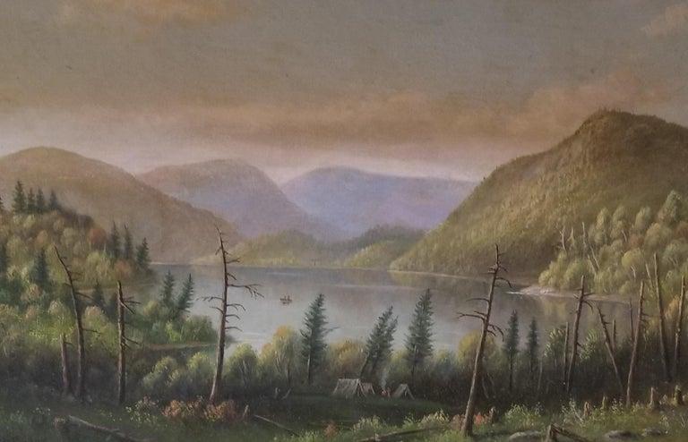 Levi Wells Prentice Landscape Painting - Adirondack Scene
