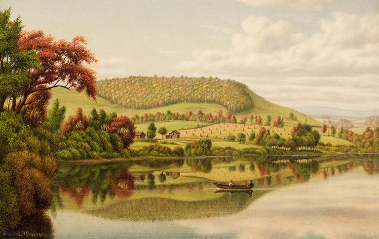 Levi Wells Prentice Landscape Painting - Autumn Reflections