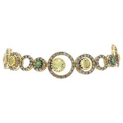 LeVian 4.00 Carat Diamond and Gemstone Bracelet