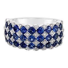Le Vian Ring Blueberry Sapphire Vanilla Diamonds 14 Karat Vanilla Gold