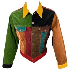 LEVI'S VINTAGE CLOTHING Big E Size M Size M Multi-Color Corduroy Jacket