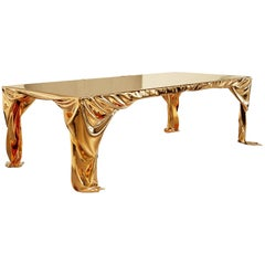 Levitaz Cast Bronze Dining Table