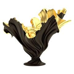 Levitaz Vase Gold / Black