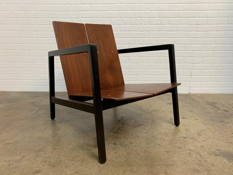 Lewis Butler Model 645 Lounge Chair for Knoll For Sale 2