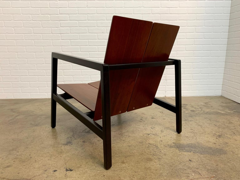 Lewis Butler Model 645 Lounge Chair for Knoll For Sale 4