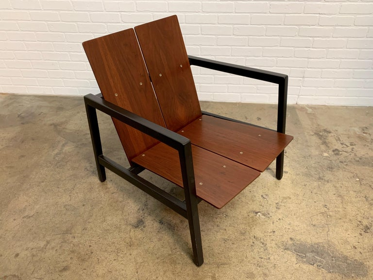 Lewis Butler model 645 lounge chair for Knoll.