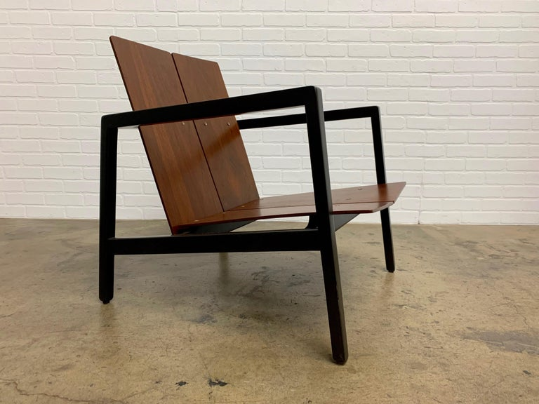 Mid-Century Modern Lewis Butler Model 645 Lounge Chair for Knoll For Sale