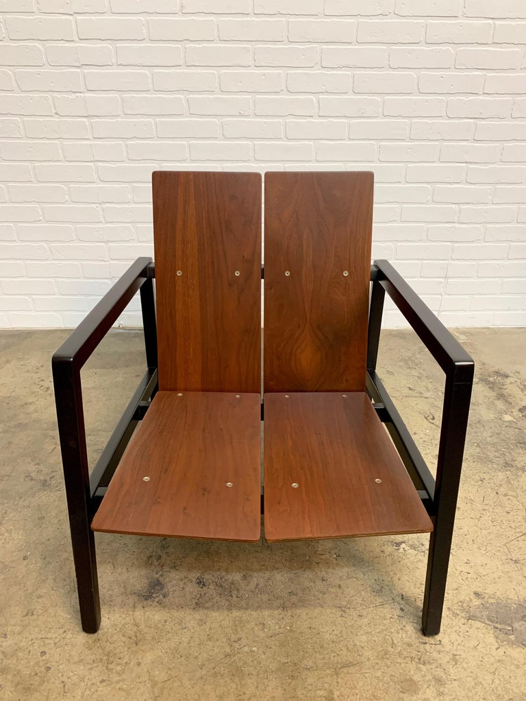 American Lewis Butler Model 645 Lounge Chair for Knoll For Sale
