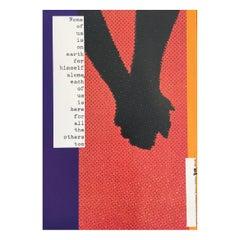 L'Homme et du Citoyen Arts 89 Original Vintage Poster