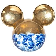 Li Lihong, Golden Mickey Mouse-China, Sculpture, circa 2010