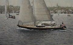 Harbor-Front Sailing, Nantucket