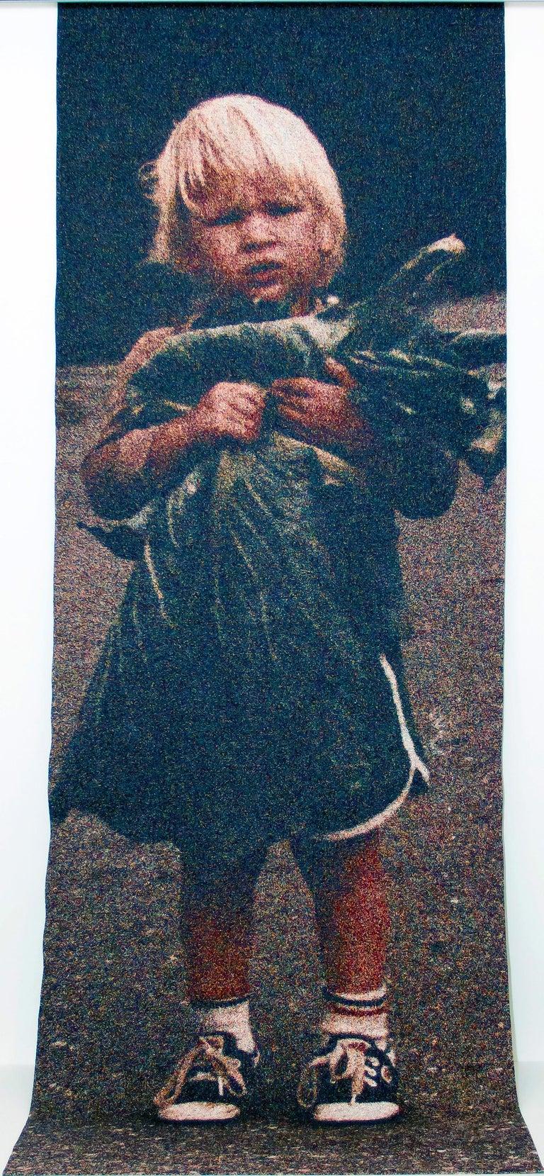 Lia Cook Portrait Photograph - Big Cabbage Boy