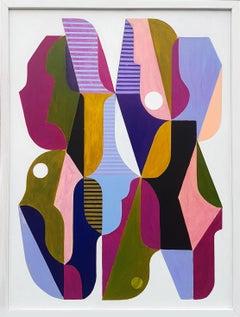 Quapillion, Painting, Acrylic on Wood Panel
