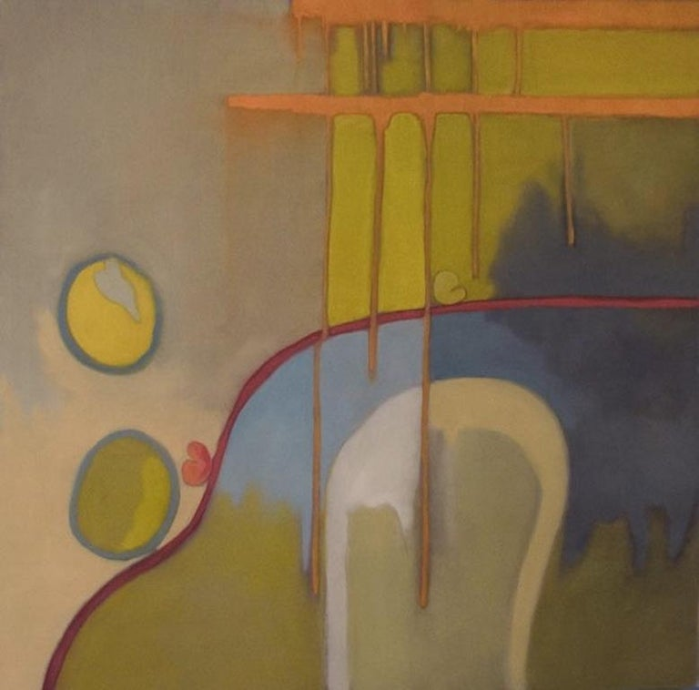 Liane Ricci Abstract Painting - I'm in Love with this Moment 3
