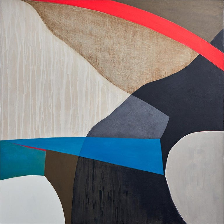 Liane Ricci Abstract Painting - Median
