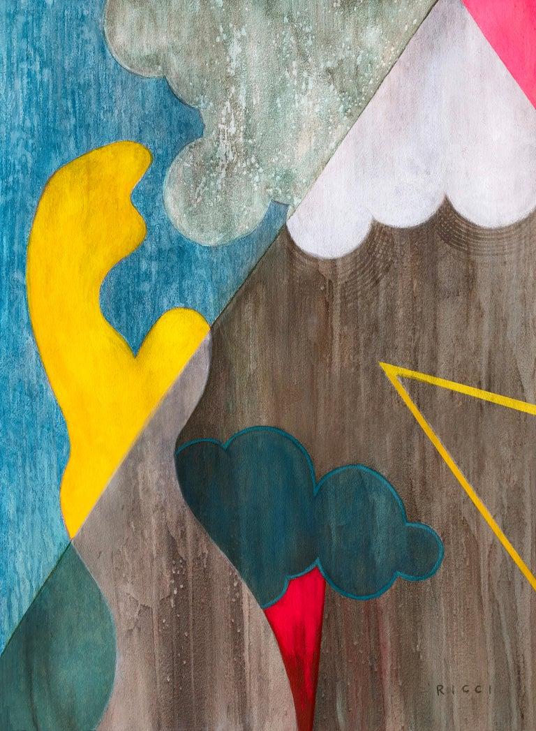 Liane Ricci Abstract Painting - Nebula