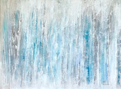 Ice Storm, Mixed Media on Canvas