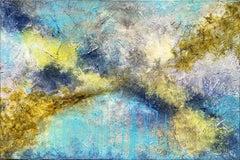 Mount Baker, Mixed Media on Canvas