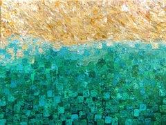Sail Away, Mixed Media on Canvas
