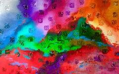 Creation #3 (Creation Series), Painting, Acrylic on Canvas