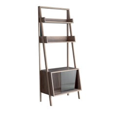 Libera Walnut Wood Cabinet