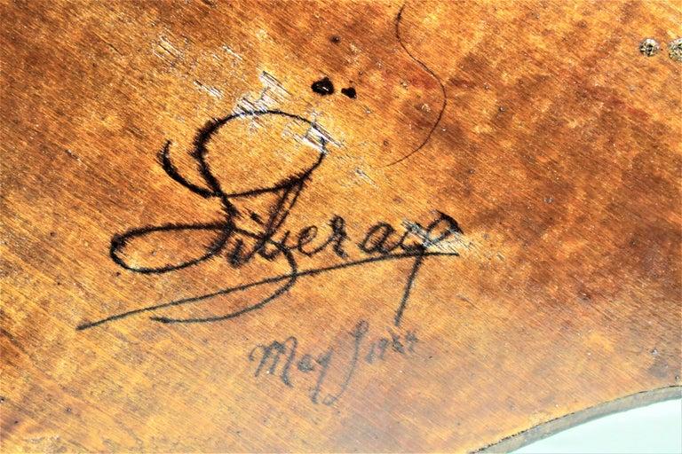 Liberace Autographed Vintage Schoenhut Toy Grand Piano For Sale 3