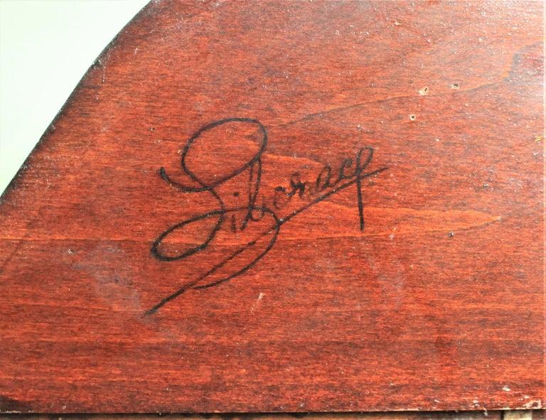 Liberace Autographed Vintage Schoenhut Toy Grand Piano For Sale 5
