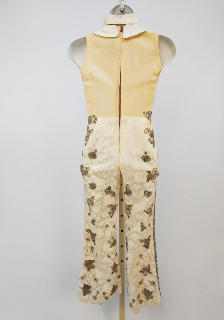 Bedazzled Rhinestone Miniature Tailcoat Set In Good Condition For Sale In San Francisco, CA